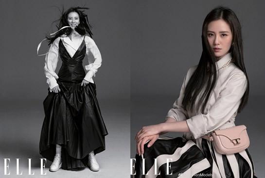 刘诗诗黑长直 第一次见到如此惊艳的刘诗诗-第2张图片-爱薇女性网