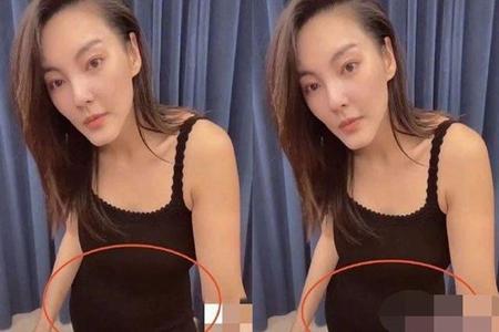 张雨绮小腹隆起被指怀孕,张雨绮否认称假期吃太多-第1张图片-爱薇女性网