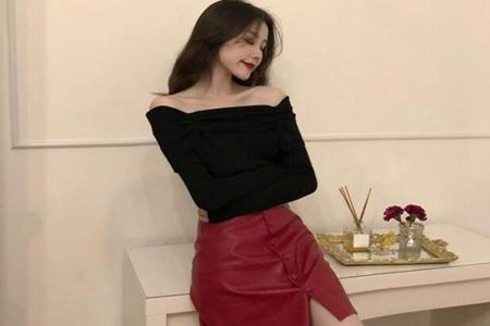 超短裙搭配什么上衣好看,三款简约超短裙穿搭时尚靓丽-第2张图片-爱薇女性网