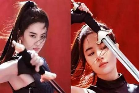 花木兰试镜视频,刘亦菲素颜上镜-第3张图片-爱薇女性网