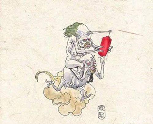 古代传说中八种鬼的长相图片-第8张图片-爱薇女性网