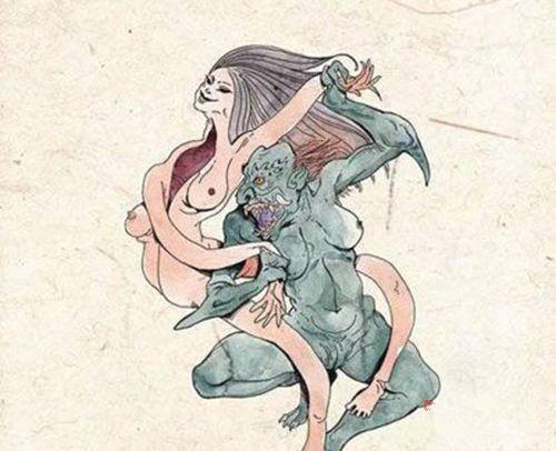 古代传说中八种鬼的长相图片-第3张图片-爱薇女性网