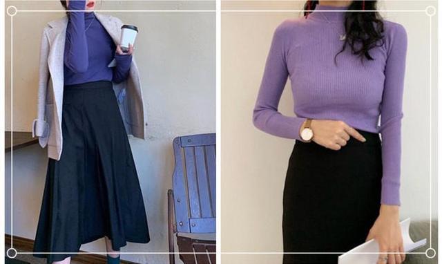 紫色配什么颜色好看,这5种颜色搭配简单又优雅-第2张图片-爱薇女性网