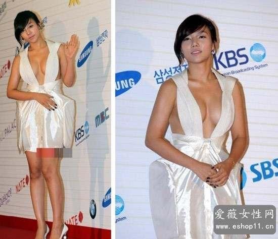 盘点10大双乳外撇的八字奶美女明星-第9张图片-爱薇女性网