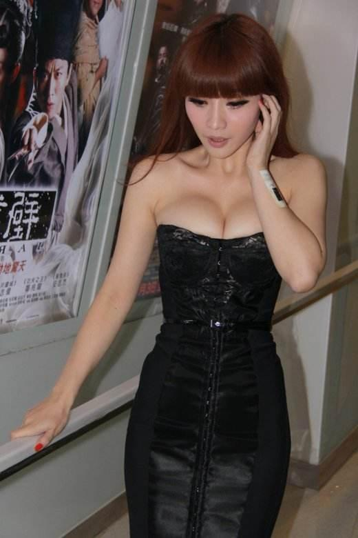 盘点中国十大乳神排行榜,注意不要流鼻血-第10张图片-爱薇女性网