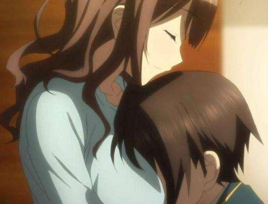 女生把胸贴在男朋友上他什么感觉?