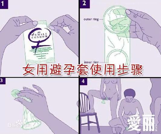 真人示范避孕套正确戴法:女用避孕套怎么戴-第1张图片-爱薇女性网