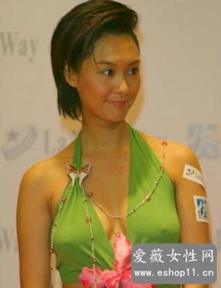 林志玲朱茵坛蜜等10大女星不带胸罩激凸走光图片-第2张图片-爱薇女性网