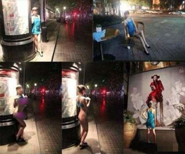 上海裸拍门事件,尺度之大令人瞠目结舌-第3张图片-爱薇女性网