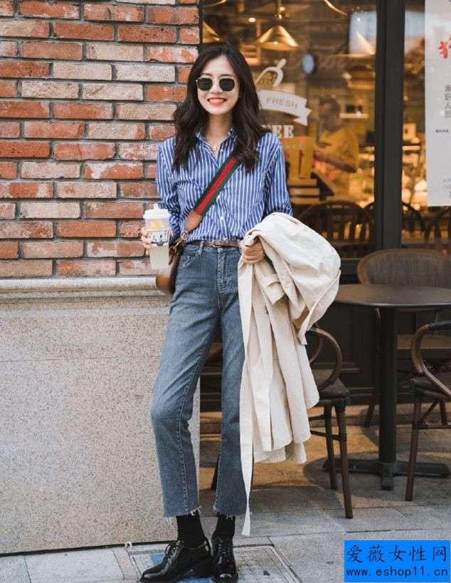 秋天不管穿裙還是牛仔裤,都别配白运动鞋,搭配这4款鞋子更能体现出女性魅力-第4张图片-爱薇女性网