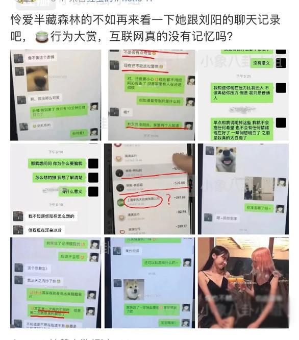 半藏森林不带套是什么梗?半藏森林和刘阳的聊天记录曝光-第4张图片-爱薇女性网