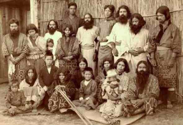 日本虾夷人:世界上体毛最茂盛的民族-第3张图片-爱薇女性网