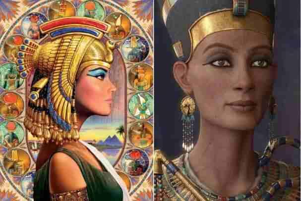 埃及艳后复原图片:真实容貌颠覆人们的想象-第2张图片-爱薇女性网
