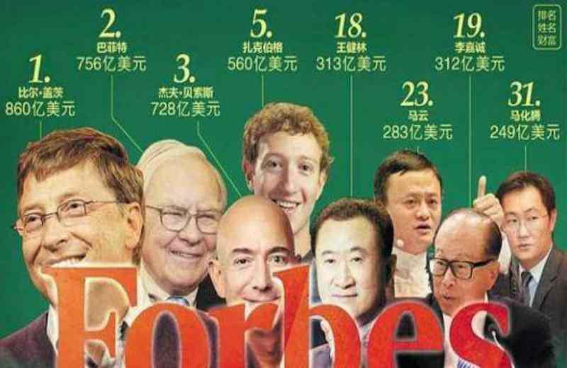 福布斯2021全球亿万富豪榜出炉,亚马逊CEO第一