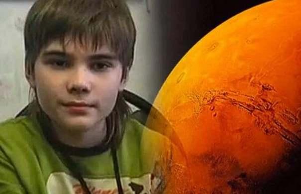 火星男孩的预言:没有任何科学证据证明(可能是其编造的谎言)